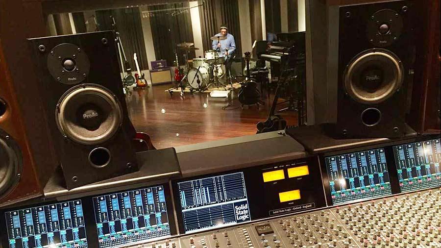 Recording with DPA mics in Germano Studio