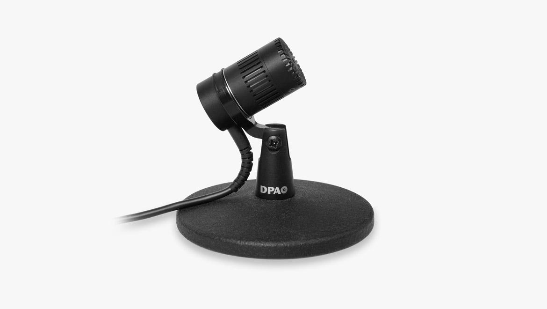 4018 Microfono da Tavolo Supercardioide, XLR