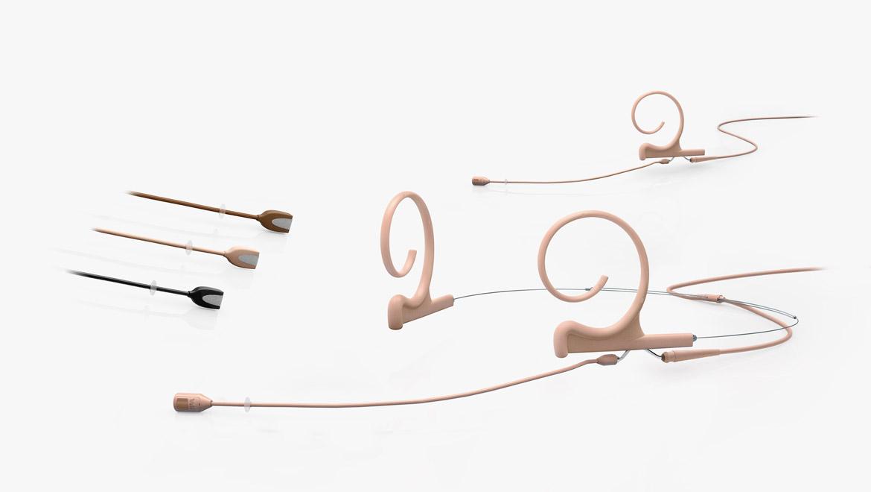 Microfoni Direzionali Flex Headset ed Earset