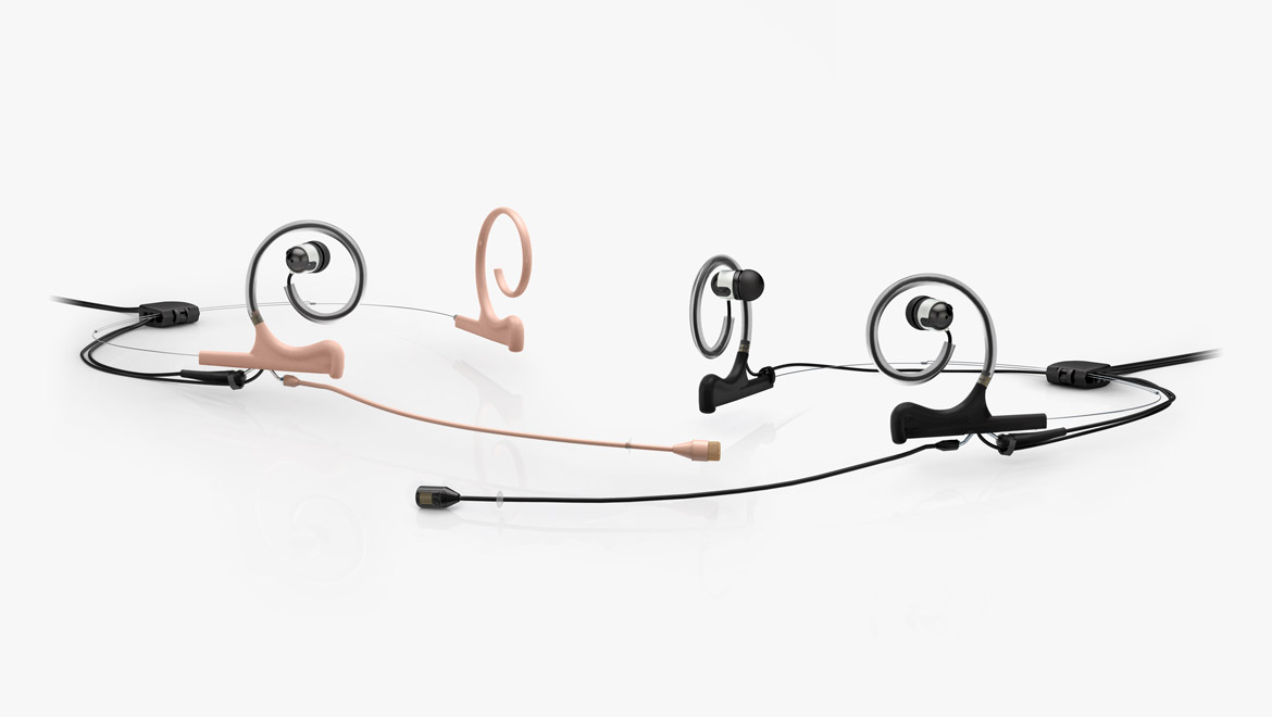 Microfono Broadcast In-Ear Headset