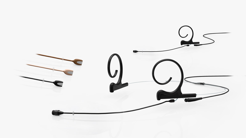 Microfoni Omnidirezionali Flex Headset ed Earset